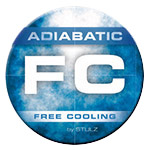 Adiabatic free cooling