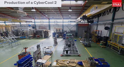 Production of a CyberCool 2 - Timelapse